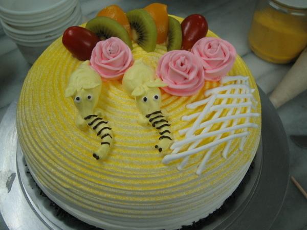 961116蛋糕裝飾課