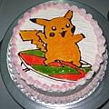 皮卡丘蛋糕