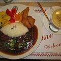 黑胡椒牛柳飯