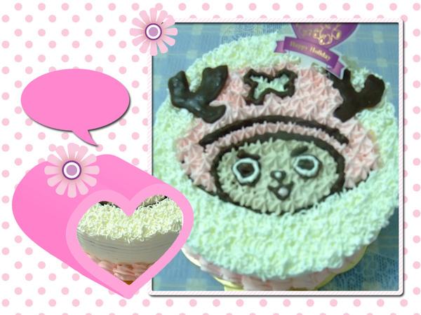 喬巴生日蛋糕