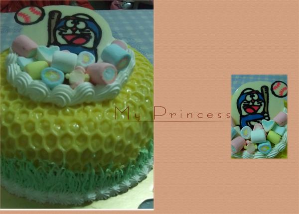 哆啦A夢布丁蛋糕