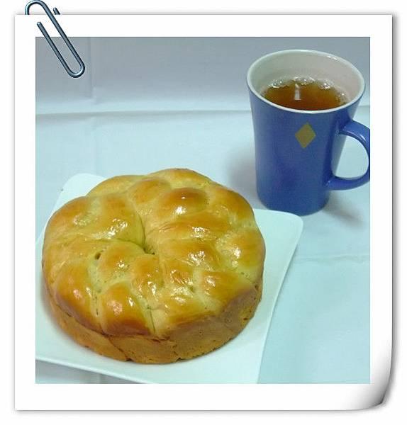 鮮橙蜂蜜麵包