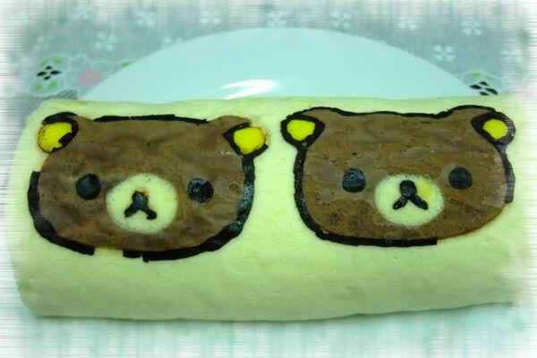 懶懶熊蛋糕捲
