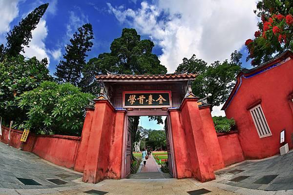 自助婚紗景點推薦-台南孔廟