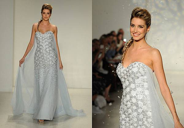 艾莎的婚紗