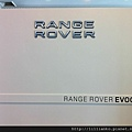 小隔間外牆的Mark~ Range Rover - EVOQUE
