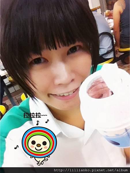 2012.08.23 嚐鮮 M冰炫風新口味 黑加麗OREO