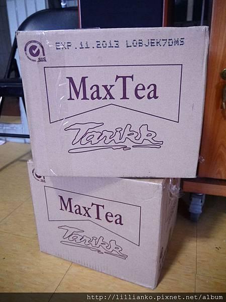兩大箱Max Tea
