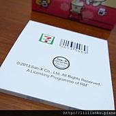 04/05 消費滿110贈品 - 彩色內頁便條紙之草裙舞 (背面)