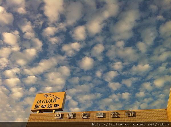 2013.11.25 Mon. 今天天空好藍喔!