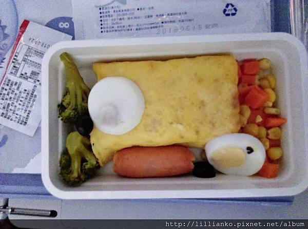 兒童餐是蛋包飯