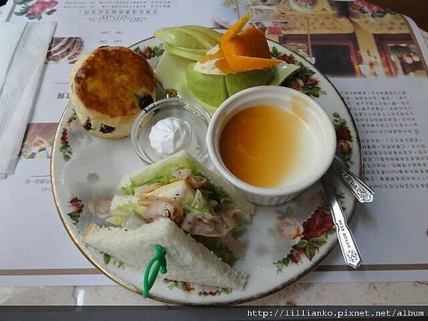 古典玫瑰園下午茶