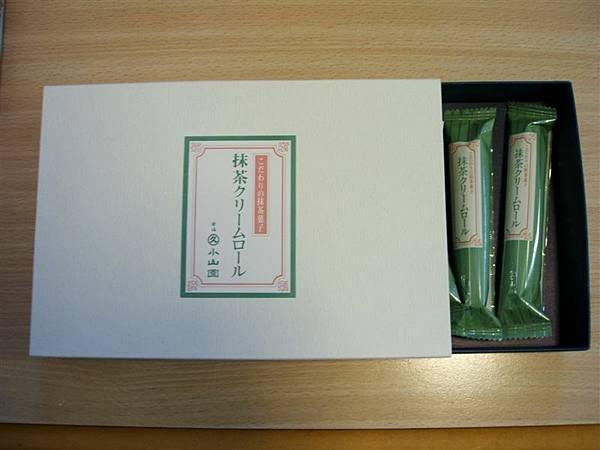 日本抹茶蛋捲^o^