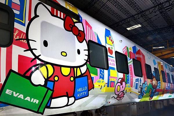 Hello kitty太魯閣號彩繪列車1.jpg