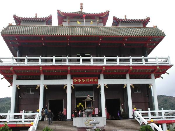 花蓮月眉發發發財神廟