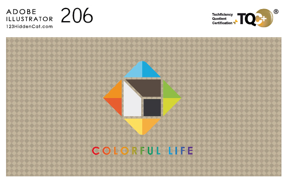 TQC+AdobeIllustrator電腦繪圖設計Demo206-01
