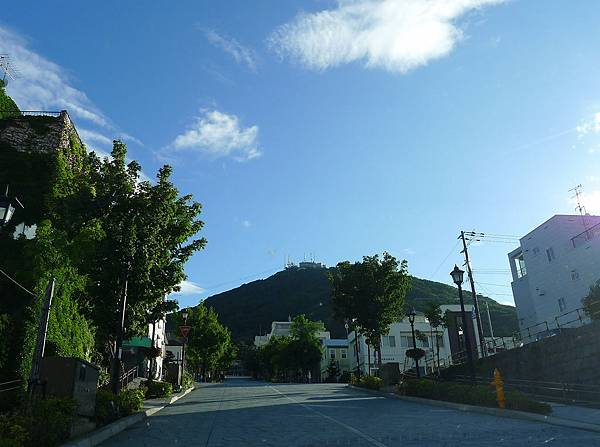 函館乾淨的天空
