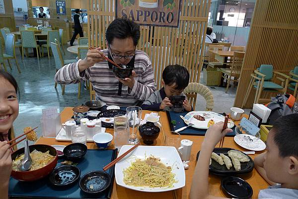 函館車站晚餐