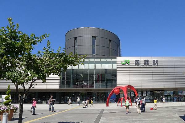 函館車站上午10點