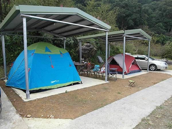泰雅巴萊雨棚營位2
