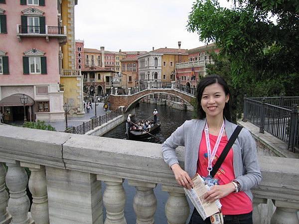 看起來就像身在威尼斯一樣