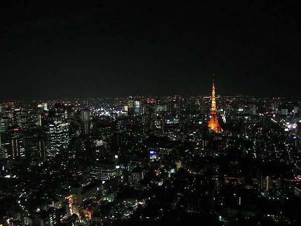 森大廈的夜景-1