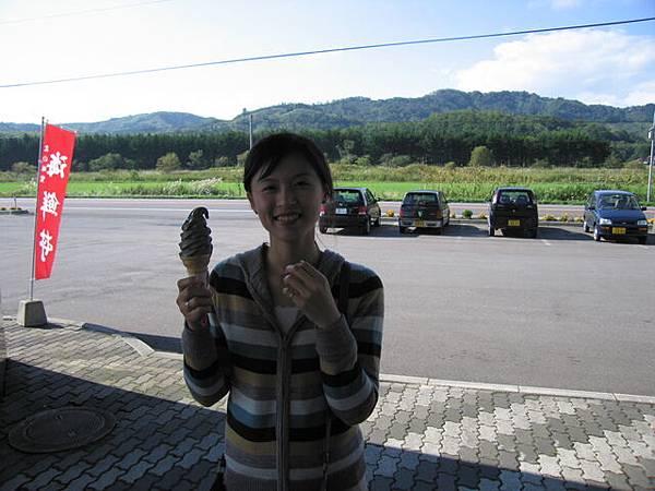 墨魚霜淇淋