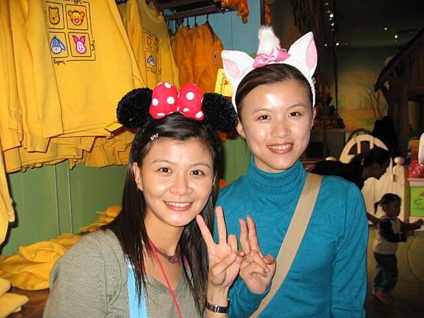 突然想到..這行為在東京Disney Sea似乎也做過.....