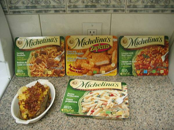 超市買的義大利麵+溫蒂馬鈴薯