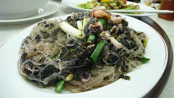 紫菜炒冬粉