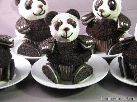 熊猫oreo饼