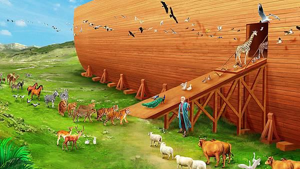 002-挪亚与动物上方舟-150314.jpg