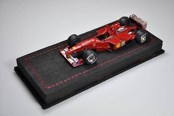 黑麂皮紅車線F1