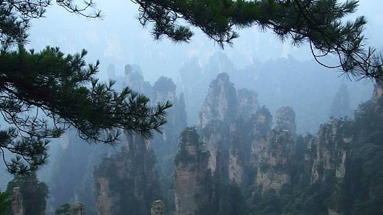 天子山美景1