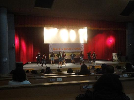 演講前台南分會舞蹈表演2