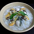 鮮蚵海瓜子粥