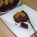 杏仁巧克力蘋果蛋糕