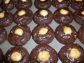 夏威夷豆巧克力餅乾