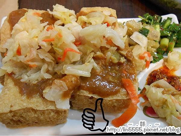 桃園中山路多吃點大腸麵線臭豆腐鬆餅5
