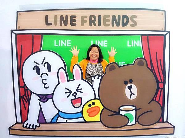 line friends互動樂園台北展覽9