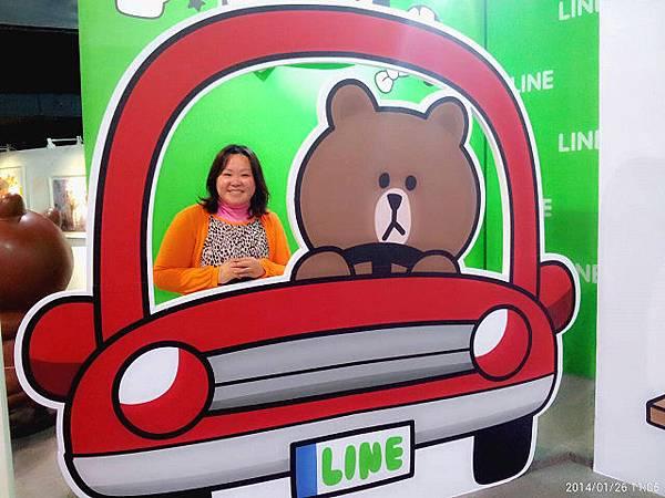 line friends互動樂園台北展覽11