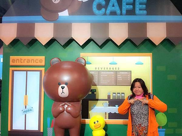 line friends互動樂園台北展覽12