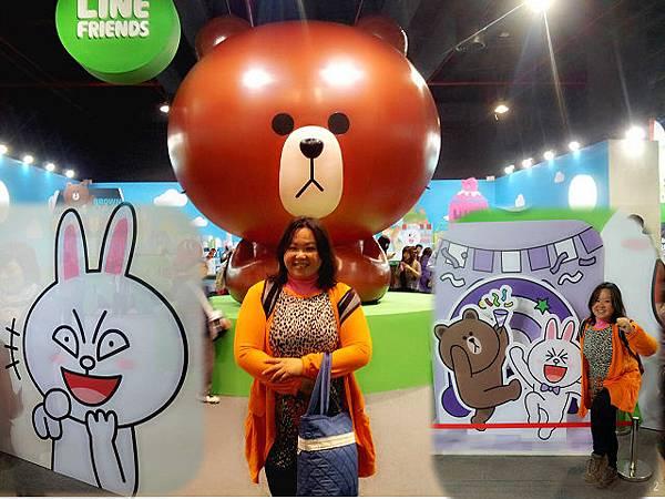 line friends互動樂園台北展覽8
