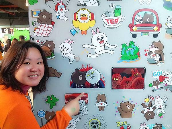 line friends互動樂園台北展覽7