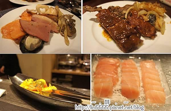 台北火車站福君海悅大飯店-海悅西餐廳美食13