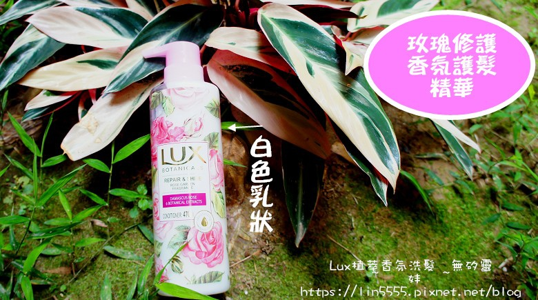 Lux植萃香氛洗髮無矽靈玫瑰修護香氛洗髮露、玫瑰修護香氛護髮精華4.jpg
