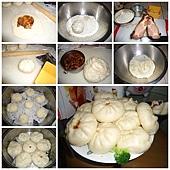 蠔油蜜汁叉燒包過程