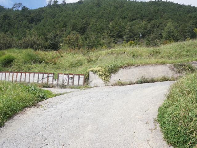 a13登山口叉路.JPG