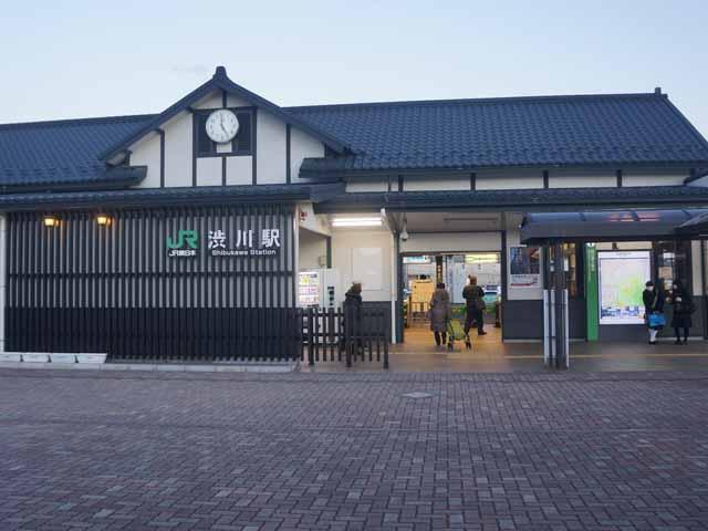 a22涉川火車站.JPG