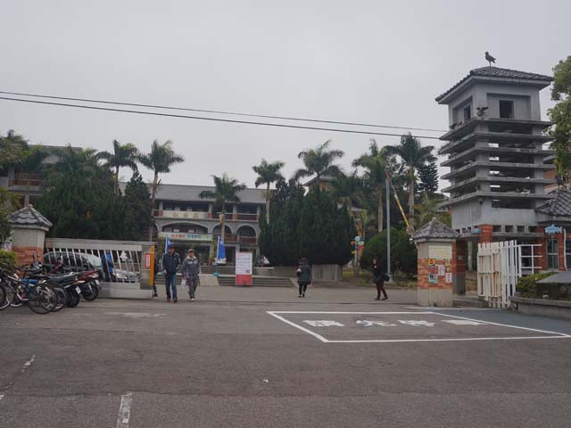 a08新社高中的入口.JPG